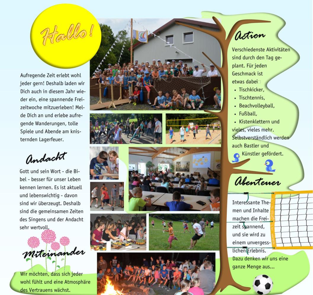 Übersicht Sommerfreizeiten SoFrei   CBG Fulda Kohlhaus