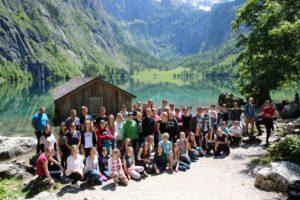 Gruppenfoto Teens in Österreich 2016   CBG Fulda Kohlhaus