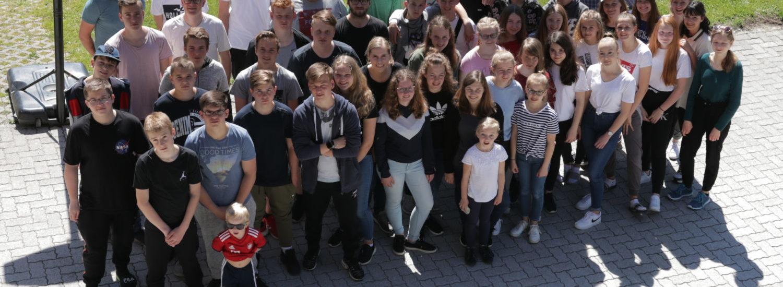 Gruppenfoto der Teens in Osterreich 2019   CBG Fulda Kohlhaus