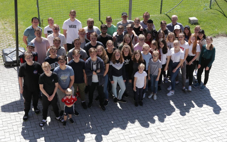 Gruppenfoto der Teens in Osterreich 2019 | CBG Fulda Kohlhaus