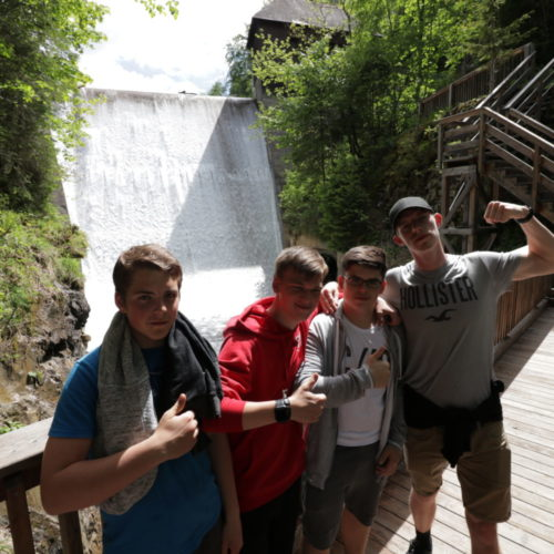 Teens bei den Salzwelten - Young Days   CBG Fulda Kohlhaus