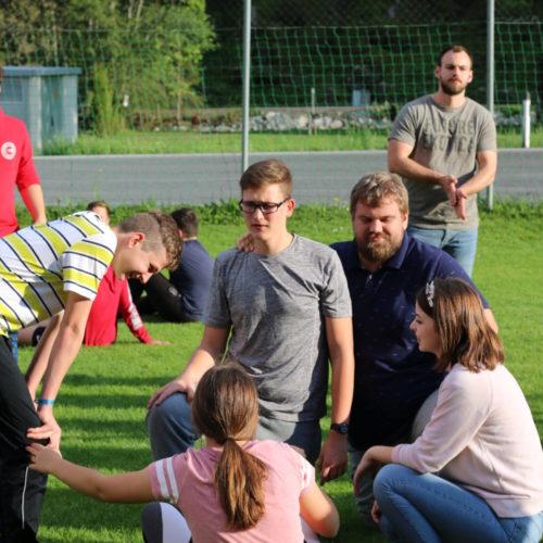 Teens beim Spielen - Young Days   CBG Fulda Kohlhaus